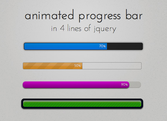 progress-bar-in-4-lines